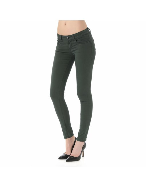 MARA10_121NCS_VERDONE - MARA, MEDIUM RISE SKINNY MARA, MEDIUM RISE SKINNY, COLOR: GREEN, MATERIAL: 97% COTTON 3% SPANDEX,'