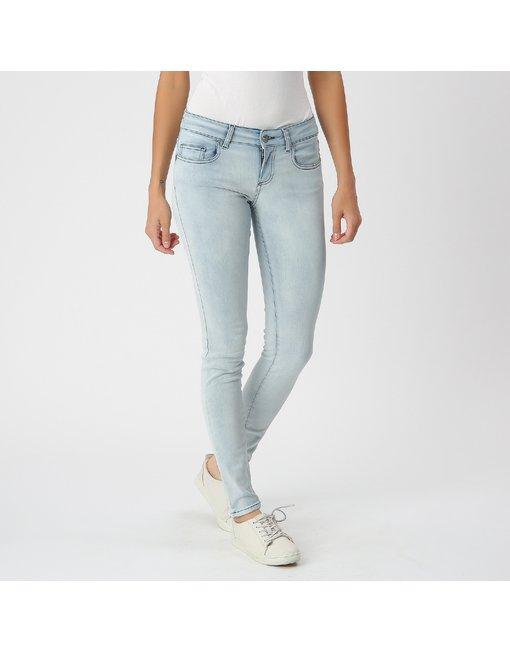 MARA10_213_WCB - MARA, MEDIUM RISE SKINNY MARA, MEDIUM RISE SKINNY, COLOR: LIGHT, MATERIAL: 93% COTTON 4% ELASTANE 3% PES,'
