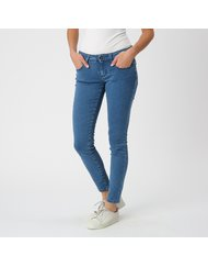 MARA, MEDIUM RISE SKINNY, COLOR: BLUE, MATERIAL: 90% COTTON 2% ELASTANE 8% PES