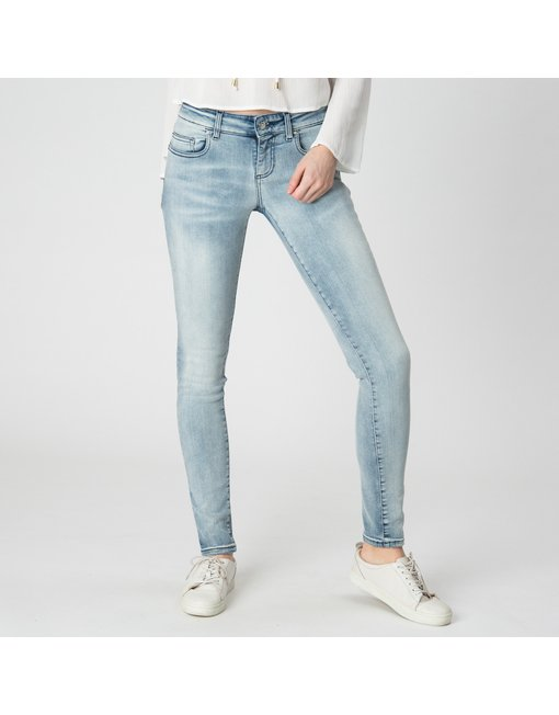 MARA10_460NCS_FLR - MARA, MEDIUM RISE SKINNY MARA, MEDIUM RISE SKINNY, COLOR: LIGHT, MATERIAL: 94% COTTON 3% ELASTANE 3% PES,'