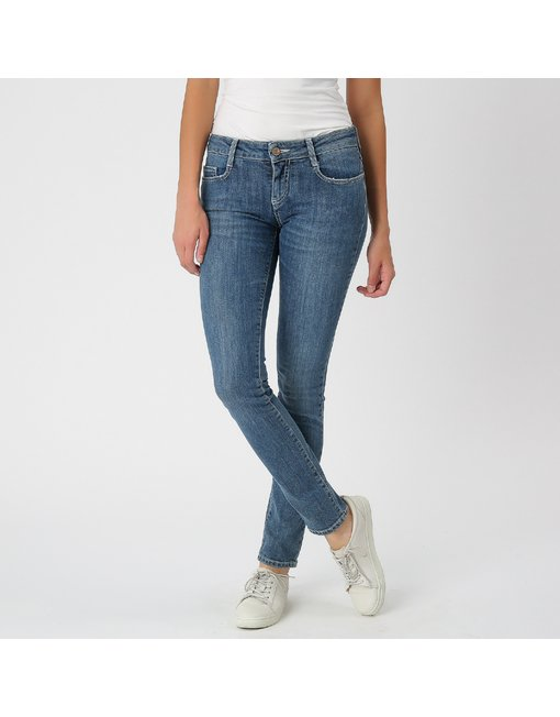 MIRA12_521CS_HVN - MIRA, MEDIUM RISE SKINNY MIRA, MEDIUM RISE SKINNY, COLOR: LIGHT BLUE, MATERIAL: 98% COTTON 2% ELASTANE,'