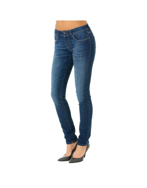MIRA12_788_RUL - MIRA, MEDIUM RISE SKINNY MIRA, MEDIUM RISE SKINNY, COLOR: BLUE, MATERIAL: 98, 5% COTTON 1, 5% ELASTANE,'